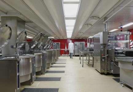 Cuisine centrale Hopital Yves Le Foll 16-